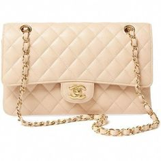 75fc603b4aa4 Chanel Women's Vintage Beige Quilted Caviar Classic Flap Medium -...  ($4,500)