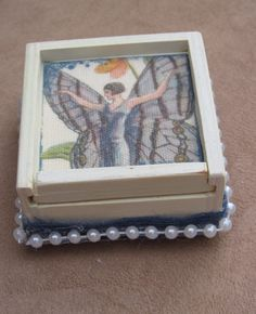 Tooth Fairy Box ~ Flapper Like Butterfly Fairy by VintageRebelGypsy on Etsy https://www.etsy.com/listing/238007890/tooth-fairy-box-flapper-like-butterfly
