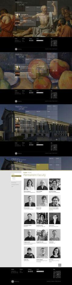 UC Berkeley History of Art website