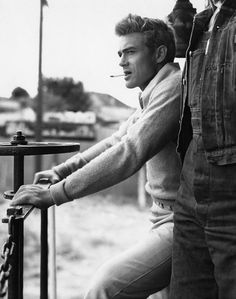 James Dean. Some guys just have great style. Where do you draw inspiration from?