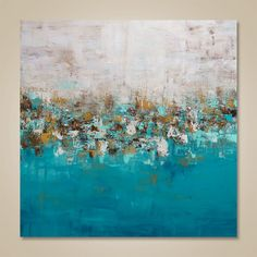 Welcome To Our Studio! -------------------- Hand Painted Modern Original Abstract Paintings by Gabriela and Catalin! ---------------------------------------------------------------------------- Title: Good Times Size: 36x36x1.25 Stretched canvas, gallery profile,