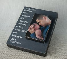 Fathers Day Gift Photo Block Inspirational by knockyourblocksoff