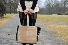 skirt  garter thigh highs