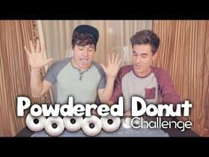 Powdered Donut Challenge - YouTube