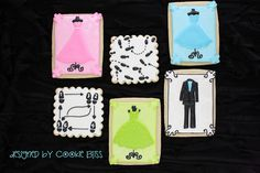 Prom Ask Cookies by Cookie Bliss (Laurie), via Flickr