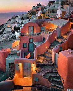 <<Santorini, Greece>>