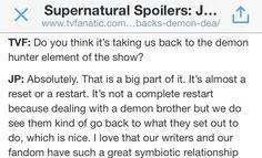 Season 10 Spoilers via Jared Padalecki!!!!! (through TV Fanatic) SO EXCITED!!!! :)