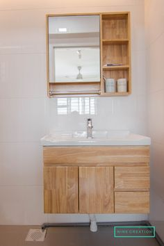 Bathroom Furniture Ideas - Whether you are prettying up a tiny powder or overhauling a grand master, the very ideal way to begin is to get inspired. Small Bathroom Sinks, Bathroom Furniture, Bathroom Interior Design, Bathroom Cabinets Designs, Mirror Cabinets, Bathroom Styling, Wooden Bathroom, Bathroom Decor, Washbasin Design