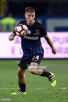Andrea Conti of Atalanta BC in action during the Serie A match between Atalanta BC and SS Lazio at Stadio Atleti Azzurri d'Italia on August 21 2016...