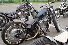 Honda Shadow 600 bobbers | Bobber Inspiration - Bobbers and Custom Motorcycles | attackchoppers October 2014