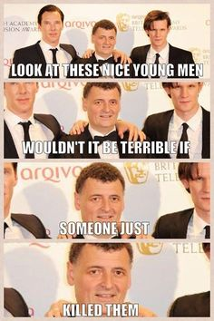 MOFFAT!!! Dude, you gotta realise that there are many people who want to rip your head off-STILL- for killing Sherlock, even though he's ok.