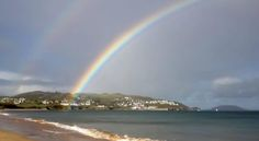 Double rainbow over Portsalon Photo credit: Ciaran McLoughlin