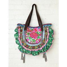 Free People Christophe Sauvat Thai Luxury Bag