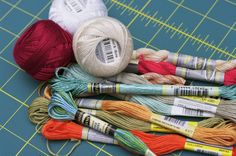 """Craft Product Review: Sullivans Embroidery Floss   Craft Test Dummies - """"I found Sullivans embroidery flosses to be a consistently high-quality floss option. I was very pleased with my finished owl project, and I especially enjoyed working with the pearl cotton and metallics. I think the price per skein/ball is very reasonable, and I would definitely recommend these products to other stitchers. The Sullivans flosses were absolutely comparable in quality to the DMC flosses that I usually…"""