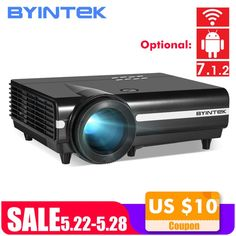BYINTEK MOON BT96Plus Android Wifi Smart Video LED Projector Proyector For Home Theater Full HD 1080P Support 4K Online Video     #ledprojector #ledprojectorlights #ledprojectorheadlights #ledprojectorhometheaters #ledprojectorlamp #hotdeals #deals #hotsales #bigsale Led Projector, Wireless Home Theater, Android Wifi, Hd 1080p, Videos, Online Video, Moon, Game Movie, Home Theaters