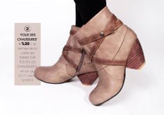 Profitez de la promotion : folie des chaussures