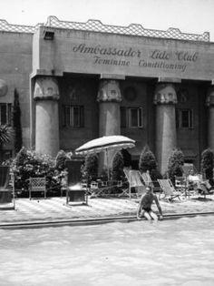 ambassador hotel los angeles apartment - Google Search