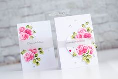 Altenew stamps, vintage roses stamps