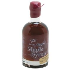 The Perfect Addition to Breakfast or Brunch! This maple syrup is aged in American Oak bourbon barrels, giving it a distinctive, mellow bourbon flavor. Made in