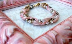 Threads and Rhinestones: Mixed Media Bracelets {Tutorial #2}