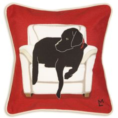 Dog Lover Gifts - Chandler 4Corners Black Lab Canvas – For the Love Of Dogs - Shopping for a Cause