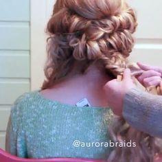 Yay or Nay??? credit @aurorabraids #hairsandstyles
