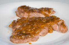Cerdo con Salsa Agridulce - Bondiola con salsa de miel y mostaza