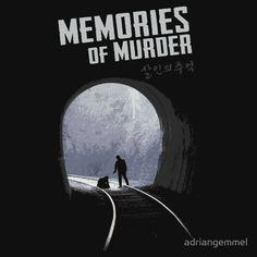 'Memories of Murder' T-Shirt von adriangemmel Memories Of Murder, Crime Film, Korean Entertainment, Serial Killers, Thriller, Mystery, Shirt Designs, Shirts, Entertaining