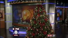 It's time to get into the holiday spirit and that includes the Fox 8 studio. Dave Henderson from Litehouse Pools & Spas showed Wayne, Stefani and Kristy what his team did to transform the news ...