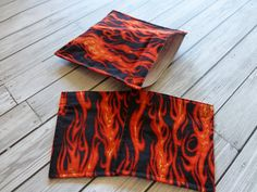 Set of 3 Reusable Lunch Bags Sandwich bag and 2 by ChestnutDesigns. Back to School