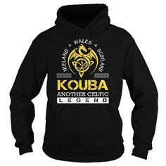 I Love KOUBA Legend - KOUBA Last Name, Surname T-Shirt T shirts