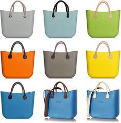 The O bag Mini-colours and straps