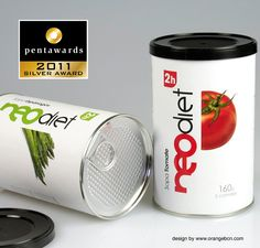 Neodiet 2h - Win Silver Pentaward 2011  design by www.orangebcn.com  #packaging #pentawards