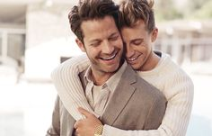 Jeremiah Brent and Nate Berkus Are the Cutest Campaign Couple Ever for Banana Republic