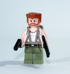 Walking Dead Abraham Ford Minifigure Action Figure Made with Lego Zombie Fighter | eBay