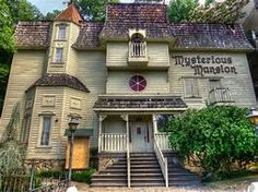 Image result for Mysterious Mansion Gatlinburg, Tennessee
