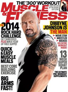 Get the workout that transformed The Rock into a silver screen superstar, and enter our 2014 Rock Hard Challenge.