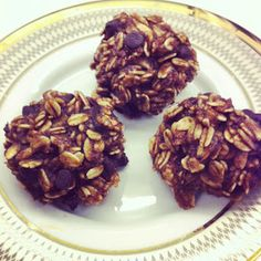 Yellow Brick Blog: Make This - Four Ingredient Cookies {psst...they're healthy}