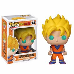 Funko Pop Goku SSJ Goku Super Saiyan, Super Goku, Goku And Vegeta, Goku Saiyan, Figurine Dragon, Pop Vinyl Figures, Houston Texans, Goodies Manga, Ball Jointed Dolls