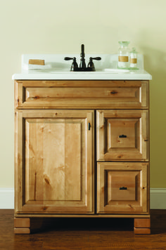 "Bathroom Vanity 30 X 21 tobago series 36""w x 21""d vanity base at menards 