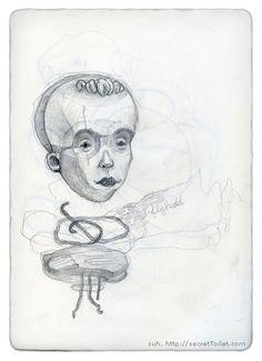 a study by wonil, via Flickr Study, Illustrations, Art, Art Background, Studio, Investigations, Kunst, Illustration, Studying