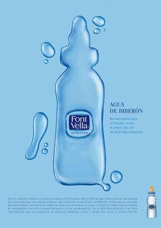 Danone Font Vella Biberon Water Ad