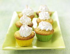 Recept voor citroencupcakes met citroen meringue