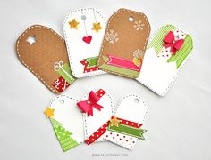 Feliz Navidad! / Last minute Christmas tags! | Agus Yornet Blog