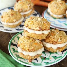 It's #NationalCarrotCakeDay, and y'all know we're celebrating. Link in bio to get our Dog Plate Set and @southernbite's Carrot Cake Whoopie Pie recipe on the #LoveReese blog