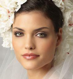 Prachtige naturel make-up.