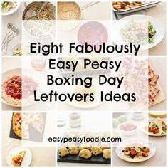 How was your Christmas? I hope it was wonderful and I especially hope your Christmas Dinner was fabulous!! But let me guess...you now have a fridge groaning with leftovers? Don't worry, I am here to help! Here are Eight Fabulously Easy Peasy Boxing Day Leftovers Ideas :-D #leftoverturkey #leftovers #leftoverham #leftoversprouts #leftovercranberries #leftovermincemeat #christmasleftovers #boxingdayleftovers #christmasfood #easychristmasfood #christmasrecipes #easychristmasrecipes…