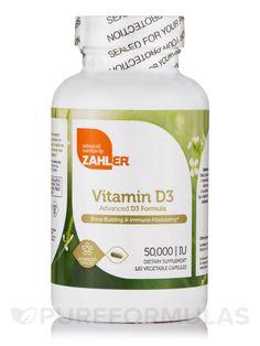 Vitamin D3 50000 IU - 120 Capsules