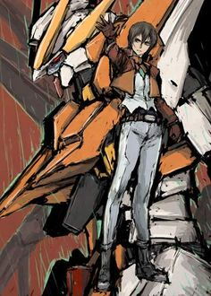 Gundam, FUCK YEAH! - ornerycrab: ティエリア&ラファエルガンダム アレルヤ&ガンダムハルート ...