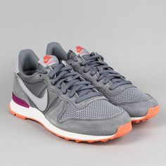 newest collection 40504 5ccb1 Nike Womens Internationalist Trainers - Cool Grey Wolf Grey ......mine!